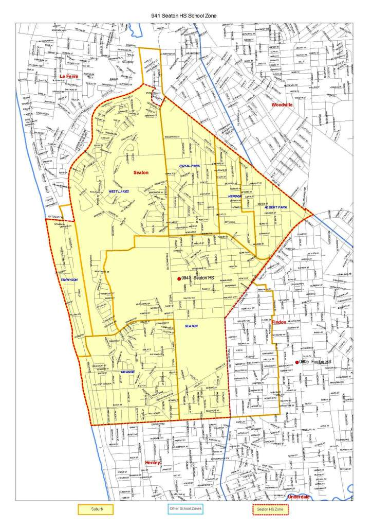 To see a map of the Seaton High School's zone click on the thumbnail ...